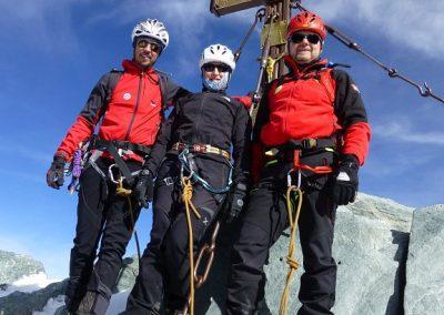 Spezialkurs im schwindenden Eis des Großglockner 4